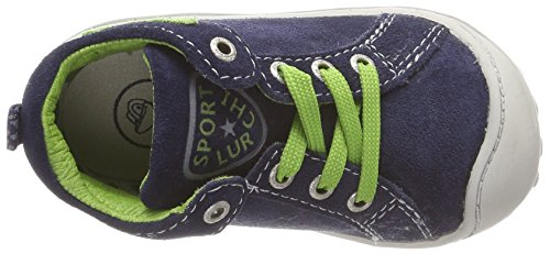 Bottines Apple Goldy navy Mixte Enfant Blau Lurchi qwvxZ85U5
