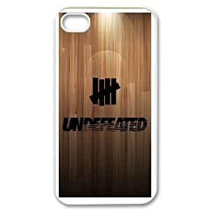 Undefeated Brand Logo For iPhone 4 4s Phone Case Cover 6FY956953