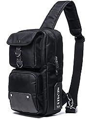 MR.YLLS Hiking Sling Bag Men Oxford Outdoor Chest Bags Sport Gym Crossbody Bag