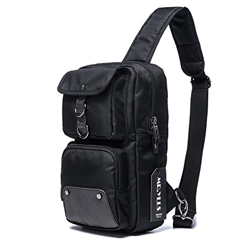 MR.YLLS Hiking Sling Bag Men Oxford Outdoor Chest Bags Sport Gym Crossbody Bag
