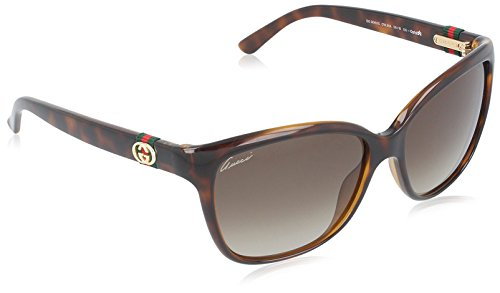 Gucci Sunglasses - 3645 / Frame: Havana Lens: Brown - 135 Sunglasses Gucci