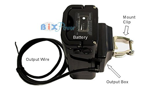 BiXPower 24V 14Ah Electric Bicycle E-Bike E-Scooter High Capacity Light Weight Lithium Ion Battery -BX2499B - 24v Lithium Ion Battery Pack