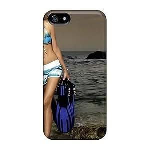 New Model Ana Beatriz Barros Skin Case Cover Shatterproof Case For Iphone 5/5s