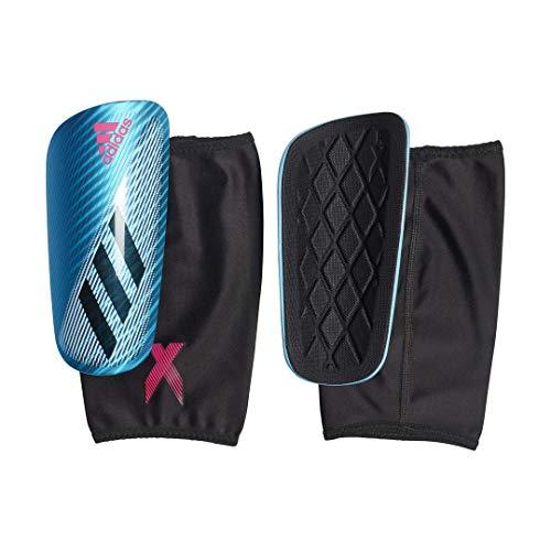 (adidas X PRO Soccer Shin Guards , Bright Cyan/Black/Shock Pink  , XS)