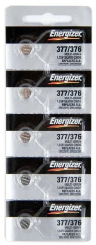 1 X 10 Energizer 377 376 Watch Battery SR626SW SR626W