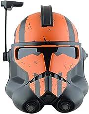 Gtytrxi Star Wars Mandalorian helm masker,Cartoon helm gezicht cover kostuum rekwisieten Halloween Cosplay Dressing Up