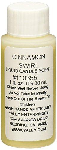 Yaley Candle Scent Liquid - Yaley Liquid Candle Scent 1oz Bottle-Cinnamon Swirl