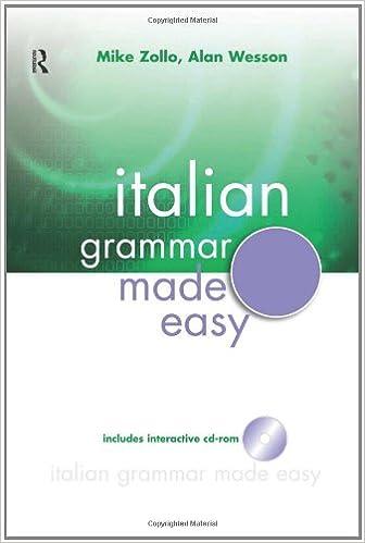 Amazon.com: Italian Grammar Made Easy (Italian Edition ...