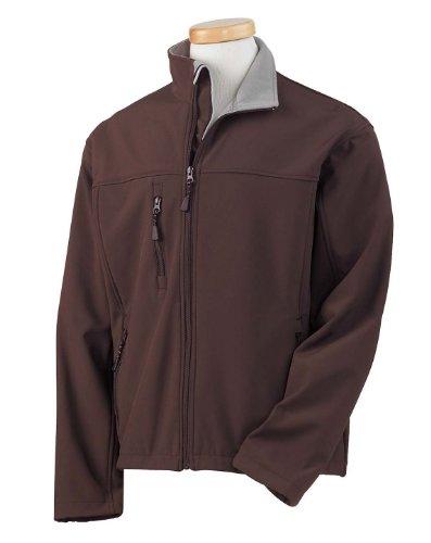 Jones Mens Soft Shell - Devon & Jones Men's Soft Shell Jacket 4XL Brown