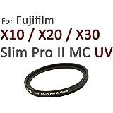 Nuovo: HAIDA PRO II Slim Digital MC-Speciale Filtro UV 40mm per Fuji X10/X20/X30-con copriobiettivo