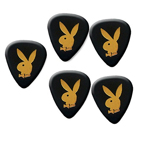 Playboy pick plectrum set of 5 medium gauge 0.71mm #1