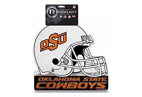 Rico College Oklahoma State Die Cut Helmet with Header