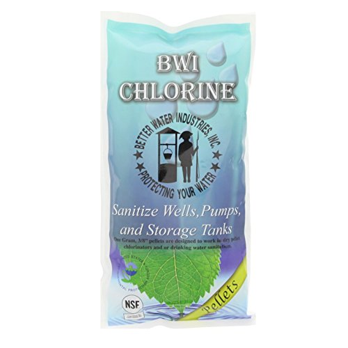 (Better Water Industries C21044 Chrloine Pallets)