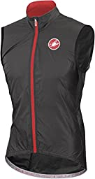 Castelli Velo Vest - Men\'s Black, XL