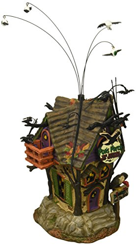 Department 56 Halloween Villages Poe's Perch Aviary Lit House (4056704) ()