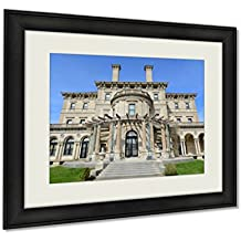 Ashley Framed Prints, The Breakers Is A One Of The Most Fabulous Building Built In 1893 For Cornelius, Black, 24x30 Art, AG6011860