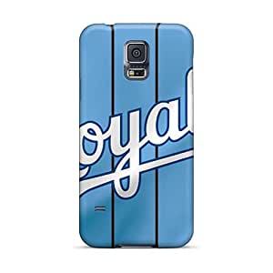 Shock-Absorbing Hard Cell-phone Case For Samsung Galaxy S5 With Unique Design Attractive Kansas City Royals Pattern KimberleyBoyes