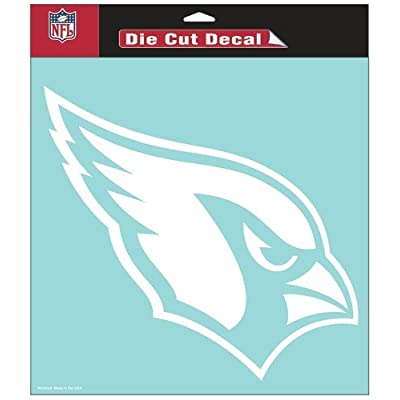 "WinCraft NFL Arizona Cardinals WCR25677061 Perfect Cut Decals, 8"" x 8"" : Sports Fan Decals : Sports & Outdoors"