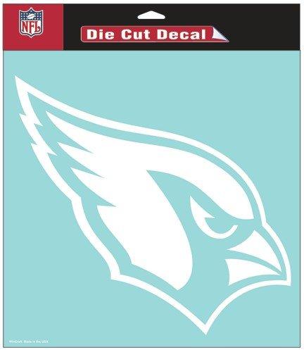 WinCraft NFL Arizona Cardinals WCR25677061 Perfect Cut Decals, 8