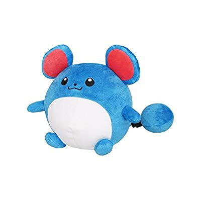 "Sanei Pokemon All Star Collection Marill Stuffed Plush Toy, 5.5"": Toys & Games"