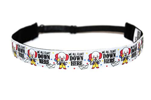 (BEACHGIRL Bands Headband Adjustable No-Slip Hair Band For Women & Girls Scary)