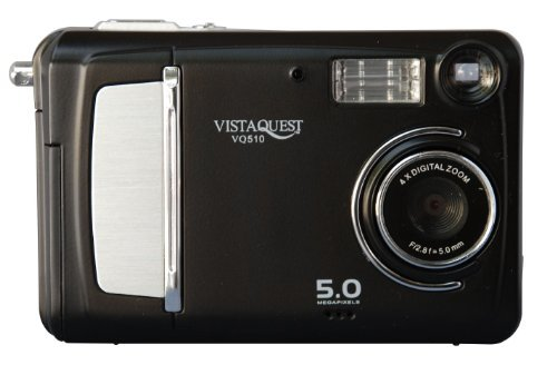 VistaQuest 5.0 MegaPixel Digital Still and Video Camera Vistaquest Video Cameras