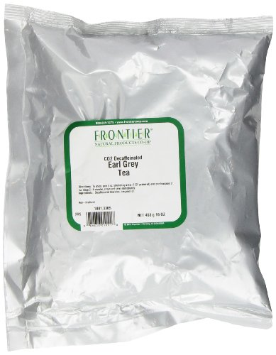 Frontier Earl Grey Co2 Decaf., 16 Ounce Bag