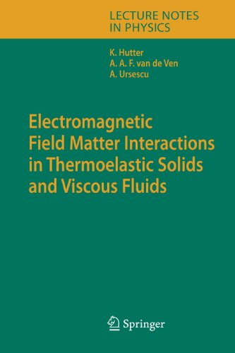 Electromagnetic Field Matter Interactions in Thermoelasic Solids and Viscous Fluids (Lecture Notes in Physics)