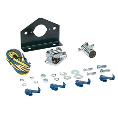 Hopkins 48345 5 Pole Round Connector Kit: Automotive