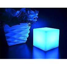 RioRand® Led charging lights color changing lights 15 cubes color gradients flashing bar led desk lamp
