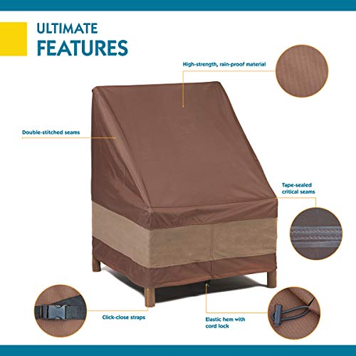 Duck Covers Ultimate Patio Chair Cover, Fits Patio Chairs 32'' Wide by Duck Covers (Image #2)