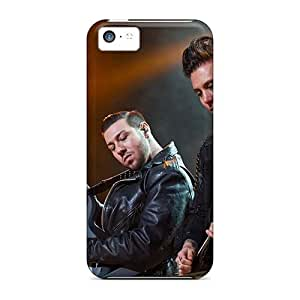 Anti-Scratch Hard Cell-phone Cases For Iphone 5c With Allow Personal Design High-definition Avenged Sevenfold Band A7X Pictures SherriFakhry