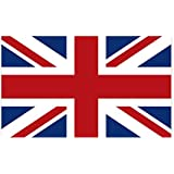 CafePress United Kingdom Union Jack Flag Sticker (Rectangle) Rectangle Bumper Sticker Car Decal