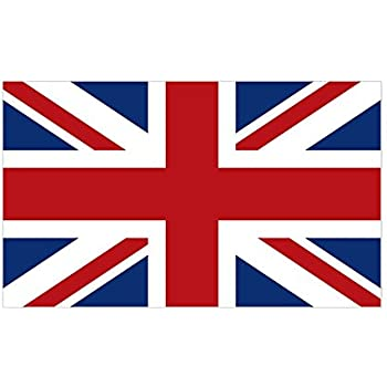 Cafepress united kingdom union jack flag sticker rectangle rectangle bumper sticker car