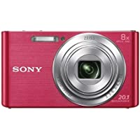Sony DSC-W830 Digital Camera (Pink) (International Model)