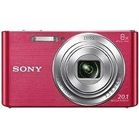 Sony DSC-W830 Digital Camera (Pink) (International Model)