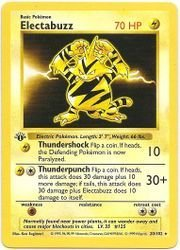 Pokemon - Electabuzz (20/102) - Base Set