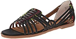 BC Footwear Women's Guess Again Fisherman Sandal, Cognac/Cognac Woven, 7.5 M US