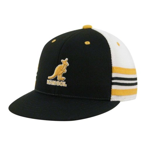 132ca7b105e Amazon.com  Kangol Kid 210 Racer Hat Black Kids 1Sfm  Clothing