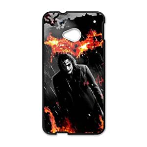 HTC One M7 Cell Phone Case Black The Joker P8Q3JH