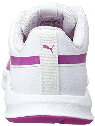 Puma 09 Mixte Flexracer Sneakers White Sl ultra Basses Magenta Adulte puma Blanc PIPqprwx