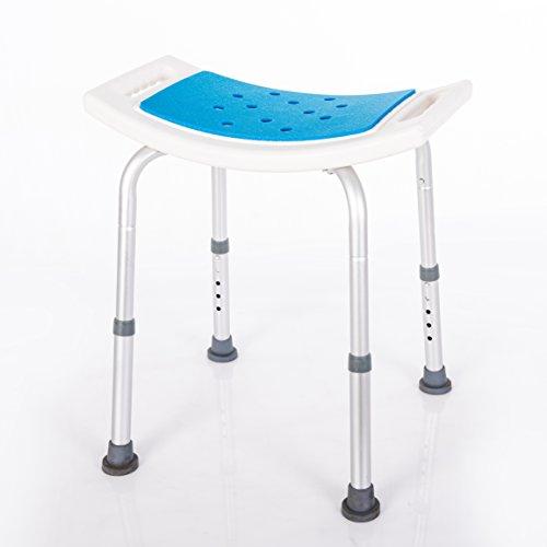 Ke's Haus Medical Tool-Free Spa Bathtub Adjustable Shower Chair Seat Bench by Ke's Haus (Image #3)