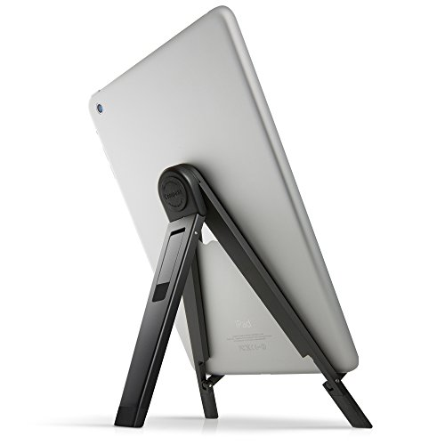Twelve South Compass 2 for iPad, black | Mobile display stand with typing angle for iPad Pro/iPad Air/iPad mini
