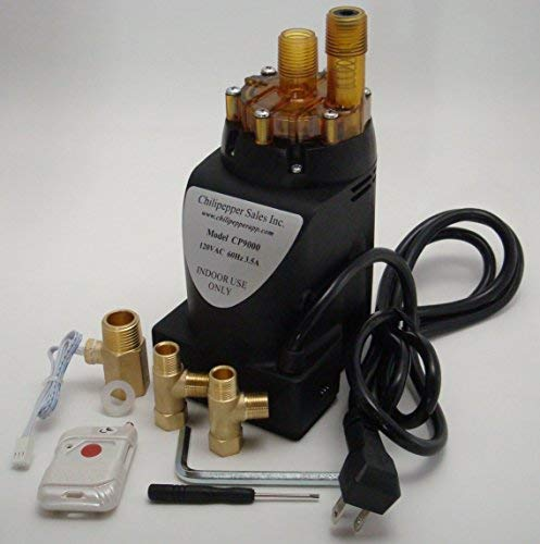 Chilipepper Model CP9000 On-Demand Hot Water Recirculating Pump with Wireless RF Remote Activation System