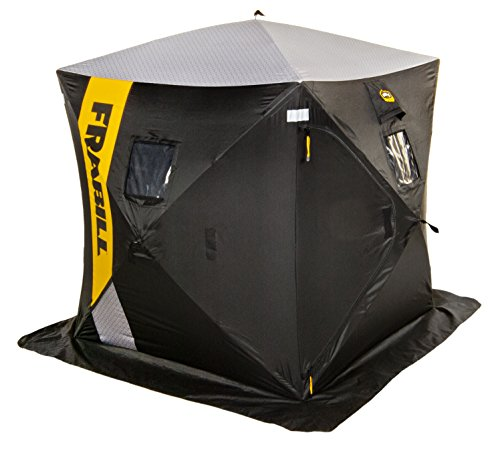 🥇 Frabill HQ 100 Hub Shelters | Premium Shelter for Ice-Fishing and Angler Capacities