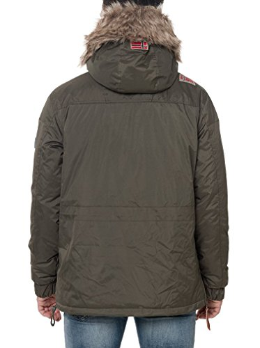 GEOGRAPHICAL NORWAY Jacke Creek Khaki XL