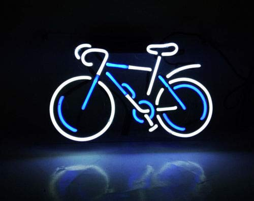 GreeneerG New Bicycle Neon Sign Wall Decor Artwork Light Lamp Display Party