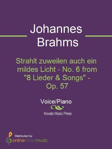 German Lieder Medium/Low Voice, Part 1