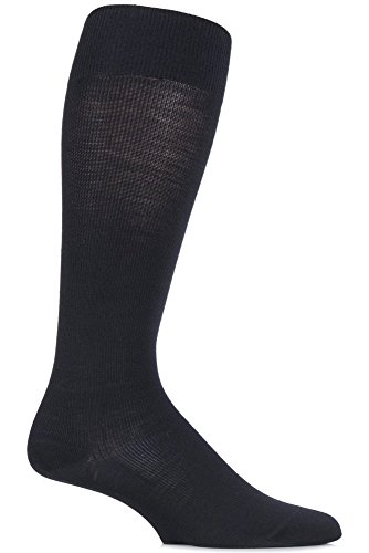 Falke Mens 1 Pair Merino Wool Energizing Knee High Socks 11-12 Black