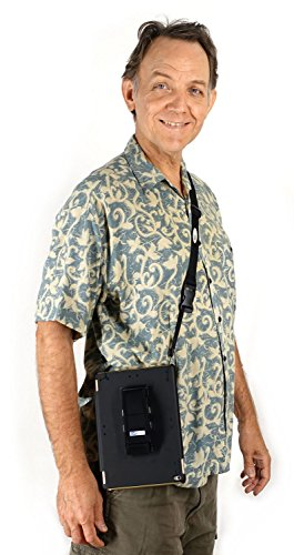 LapWorks iPad/Tablet/Camera Lanyard Neck Strap/Shoulder Strap, adjusts 40-65 inches, for Hands-Free Moving About While the iPad, Tablet or Camera Hangs Safely by Your Side - Sleeve Tackle